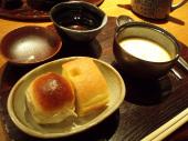 スープと自家製パン